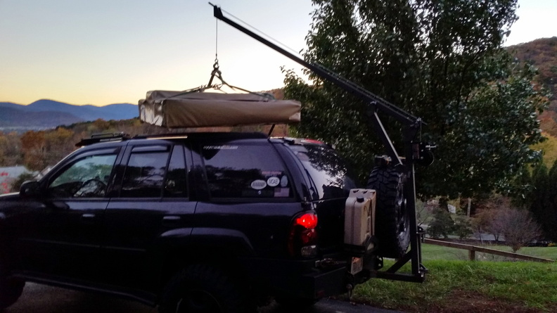 Offroadtb Com View Topic Homemade Roof Top Tent